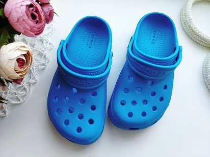 28 (17,5-19 см) Голубые кроксы