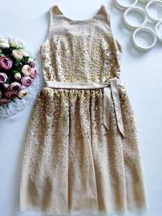 12,13 лет, рост 158 Новое шикарное нарядное платье