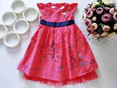 2,3 года, рост 92,98 Новое нарядное платье