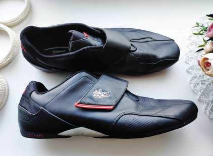 44 (29,5 см) Кожаные кроссовки