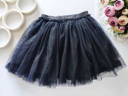 6 лет, рост 116 Пышная юбка с паетками