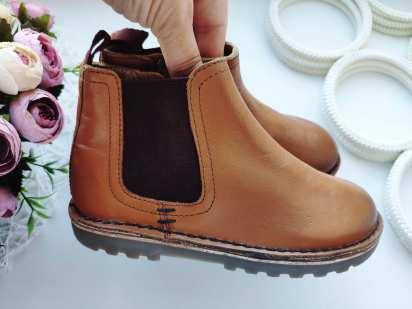 26-27 (17,5 см) Новые кожаные ботинки