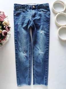 5,6 лет, рост 116 Модные джинсы