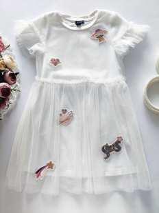 2,3 года, рост 92,98 Нарядное детское платье