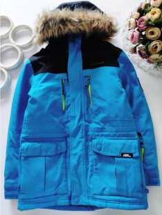 9,10 лет, рост 134,140 Зимняя куртка