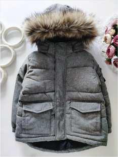 1,5\2 года, рост 92 Теплая курточка