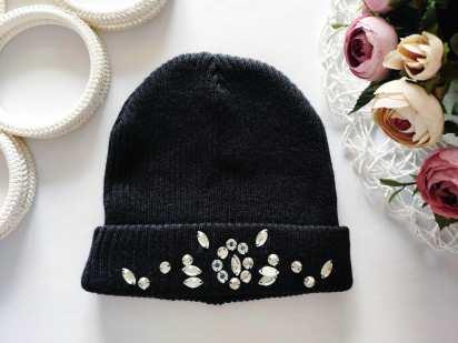 3,4 года Теплая шапка для девочки