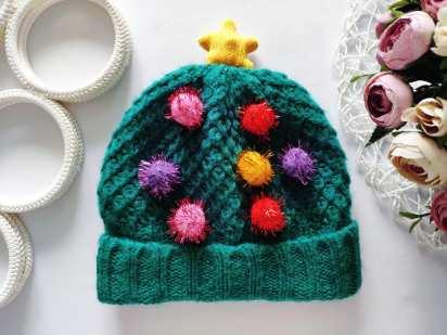 5-8 лет Зимняя шапка с мигалкой