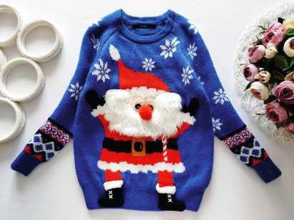 4,5 лет, рост 104,110 Новый новогодний свитер