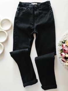 11,12 лет, рост 146,152 Стрейч! Черные джинсы