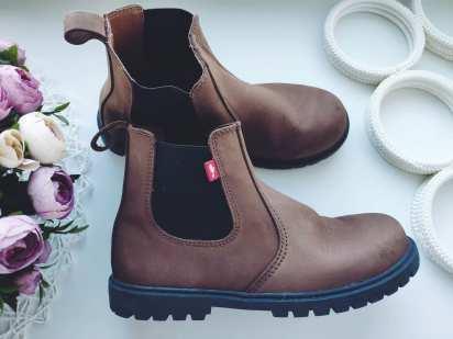 33 (21,5 см) Кожаные деми ботинки