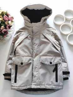 5,6 лет, рост 110,116 Зимняя куртка для мальчика