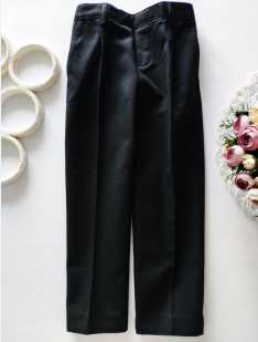 5,6 лет, рост 116 Черные детские брюки