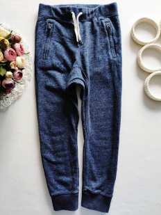 8-9 лет, рост 128-134 Котоновые штаны