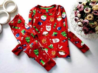5,6 лет, рост 110,116 Новогодняя пижама