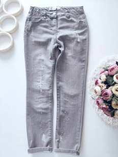 8,9 лет, рост 134 Модные джинсы