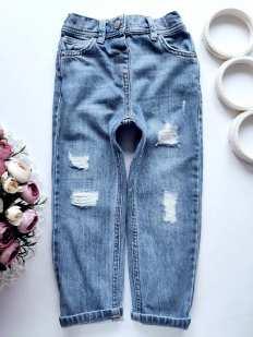 4,5 лет, рост 104,110 Модные детские джинсы