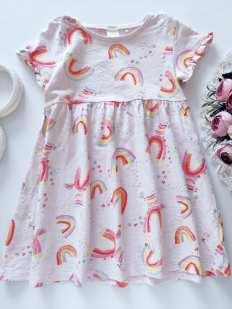 3,4 года, рост 104 Платье в единорогах