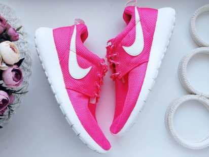 38 (24,5 см) Ярко розовые кроссовки