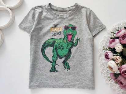 3,4 года, рост 104 Футболка с динозавром