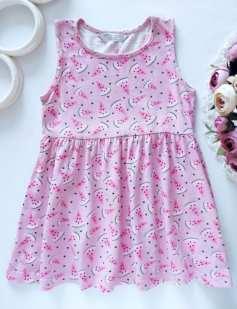 3,4 года, рост 98,104 Платье в арбузах
