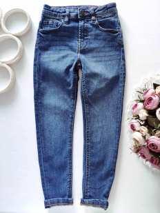 6,7 лет, рост 116,122 Стрейчевые детские джинсы