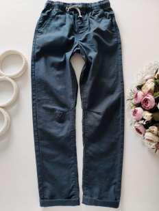 6,7 лет, рост 122 Льняные штаны