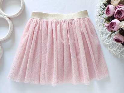 3,4 года, рост 98,104 Блестящая юбка фатин