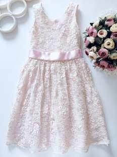 8 лет, рост 128 Нежное детское платье