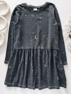 4,5 лет, рост 110 Платье в звездах