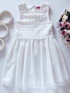 4,5 лет, рост 110 Нарядное детское платье