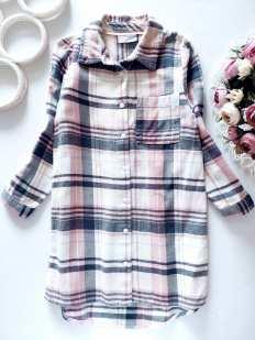 6 лет, рост 116 Платье- рубашка