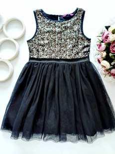 5,6 лет, рост 116 Блестящее платье