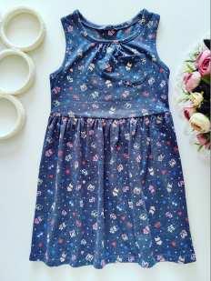 4,5 лет, рост 104,110 Платье для девочки