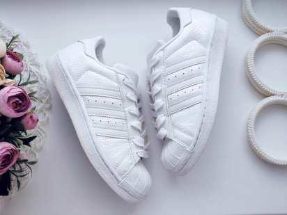 35,5 (22,5 см) Белые кроссовки