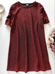 10 лет, рост 140 Блестящее детское платье