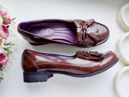 38,5 (24,5 см) Кожаные женские туфли