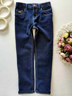 8 лет, рост 128 Стрейчевые джинсы