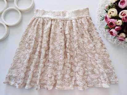 10,11 лет, рост 140,146 Блестящая юбка
