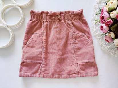 3,4 года, рост 98,104 Вельветовая юбка