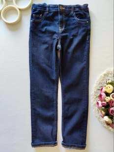 9,10 лет, рост 140 Стрейчевые джинсы