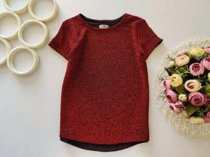 8 лет, рост 128 Блестящая блуза