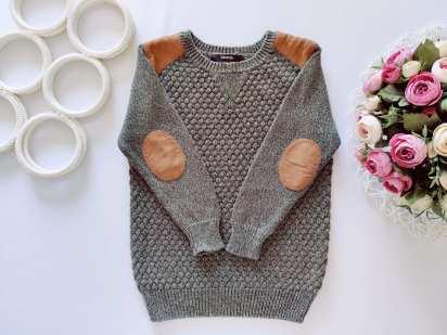 4,5 лет, рост 104,110 Хлопковый свитерок