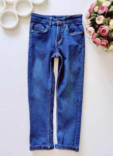 7,8 лет, рост 122,128 Стрейчевые джинсы