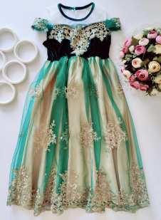 8,10 лет, рост 134,140 Нарядное детское платье