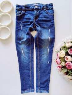 7 лет, рост 122 Модные детские джинсы