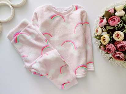 2,3 года, рост 98 Махровая пижама