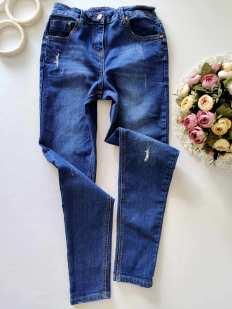 12,13 лет, рост 152,158  Стрейчевые джинсы