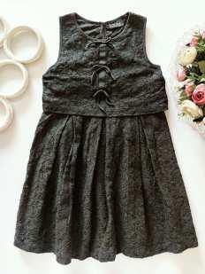 8 лет, рост 128 Ажурное детское платье