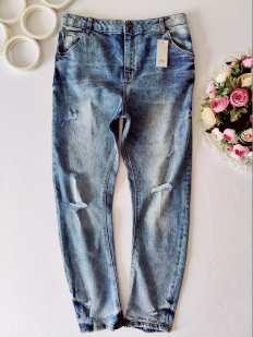 12 лет, рост 152 Новые крутые джинсы для мальчика